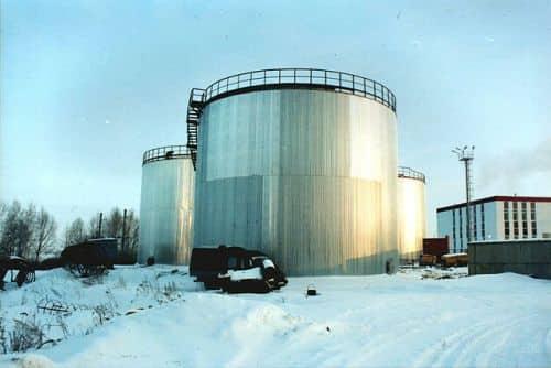 RVS_2000.  Резервуар вертикальный РВС.