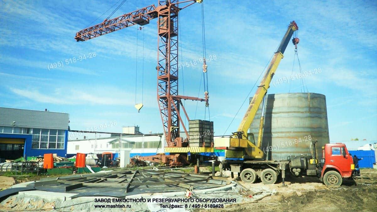 резервуар РВС 500 тонн