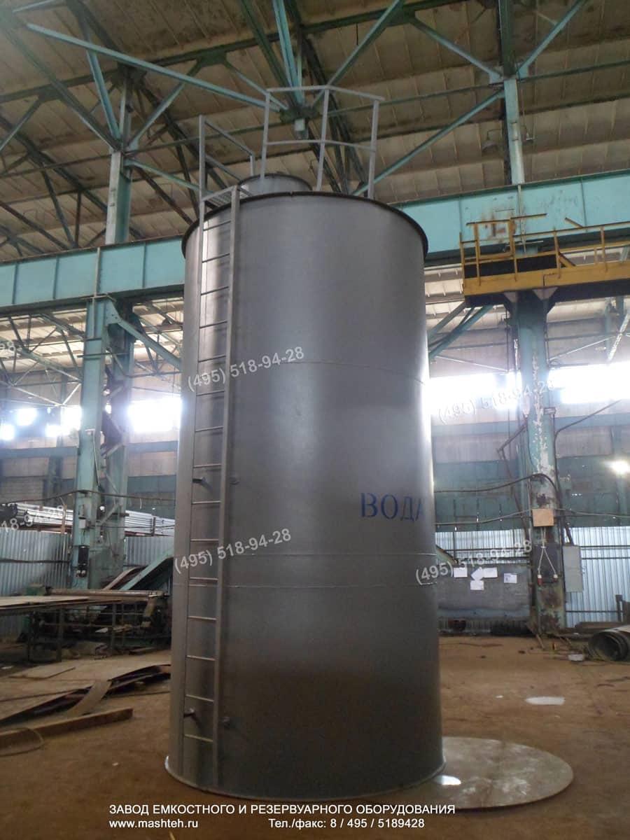 вертикальный бак для воды 25 тонн