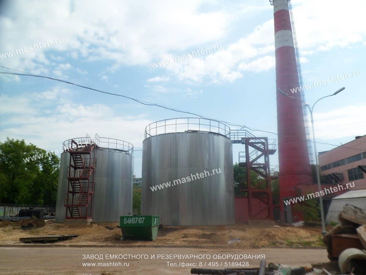 вертикальный резервуар 400 тонн